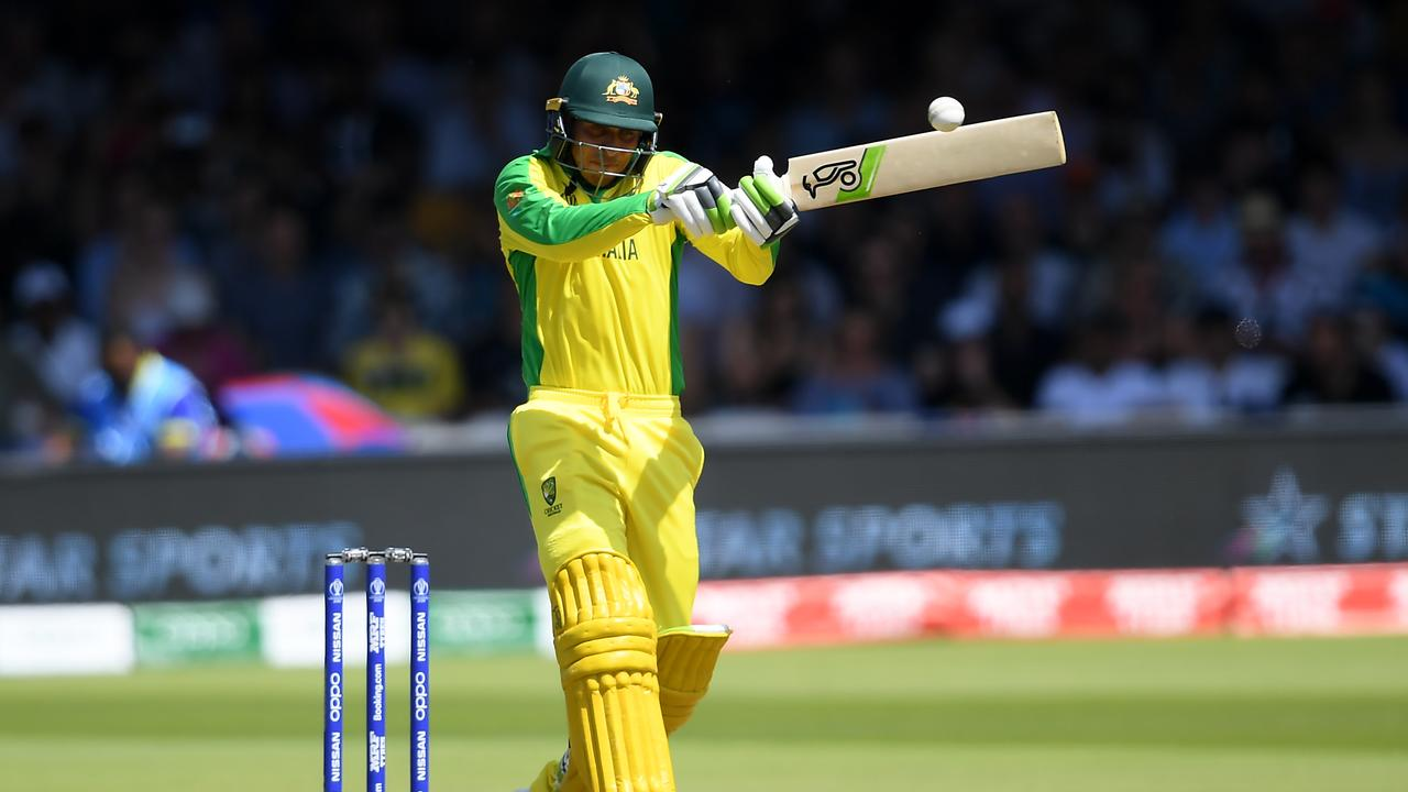 The runs continue to flow for Usman Khawaja as some pundits call for him to be replaced in Australia's World Cup line-up. Picture: Alex Davidson/Getty Images