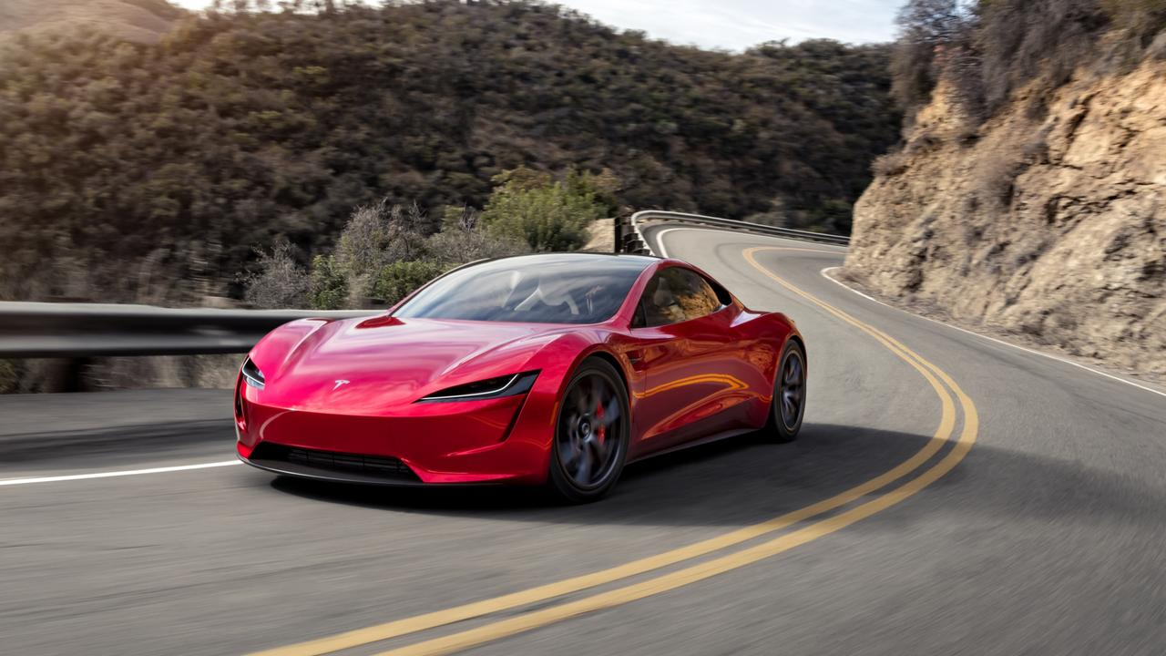 The Tesla Roadster is claimed to be the fastest car in the world.