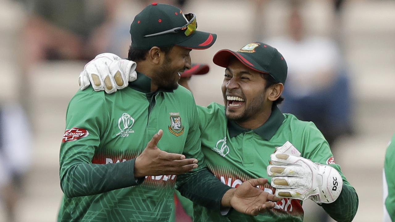 Bangladesh have a slim chance of making it to the semi-finals. Picture: AP Photo/Matt Dunham