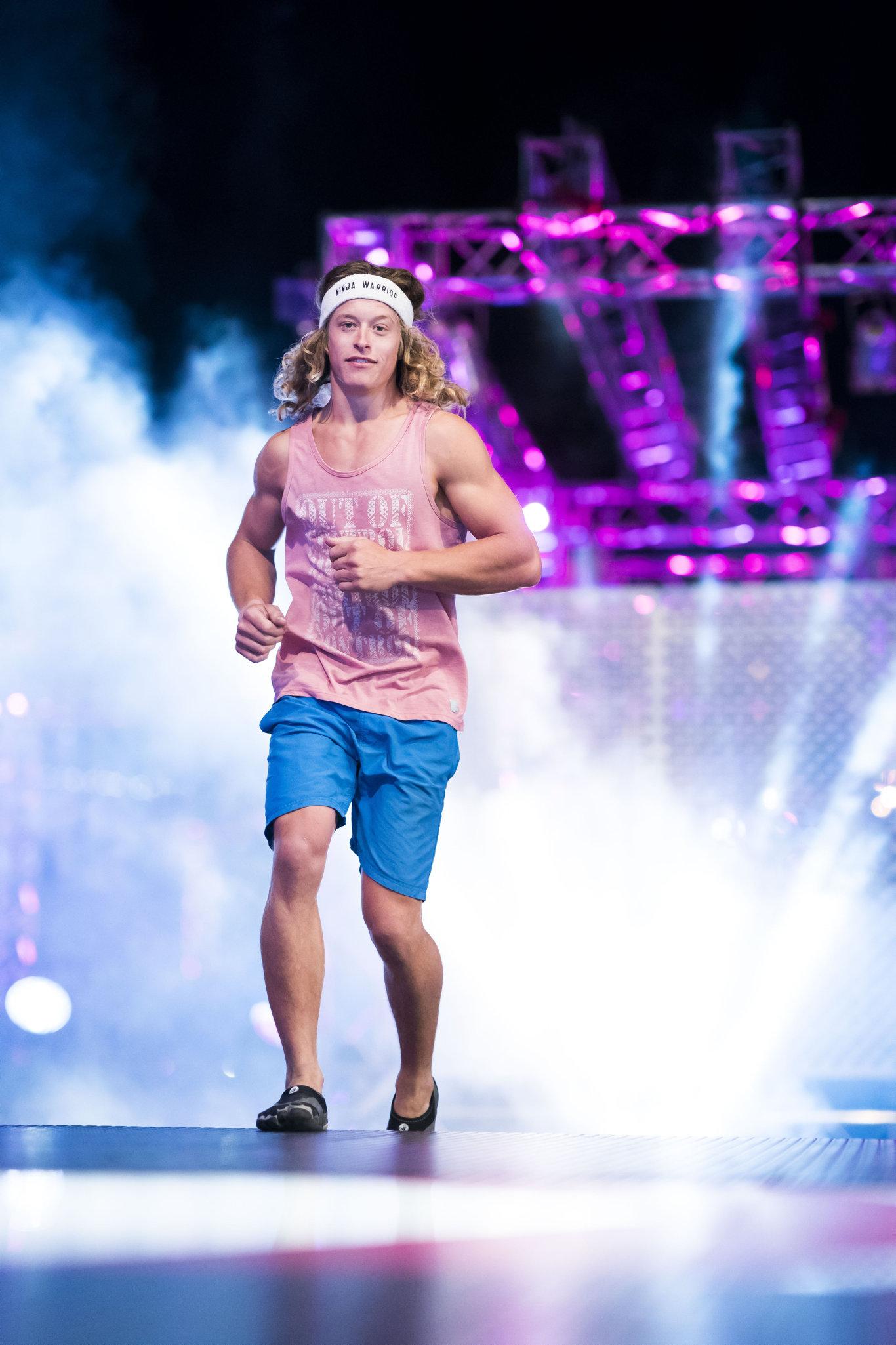 Lightning-fast ninja Ashlin Herbert is back to carve up the obstacle course in season three of Australian Ninja Warrior.