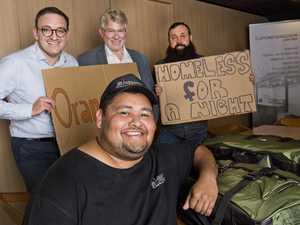 How a night sleeping rough can help Toowoomba's homeless