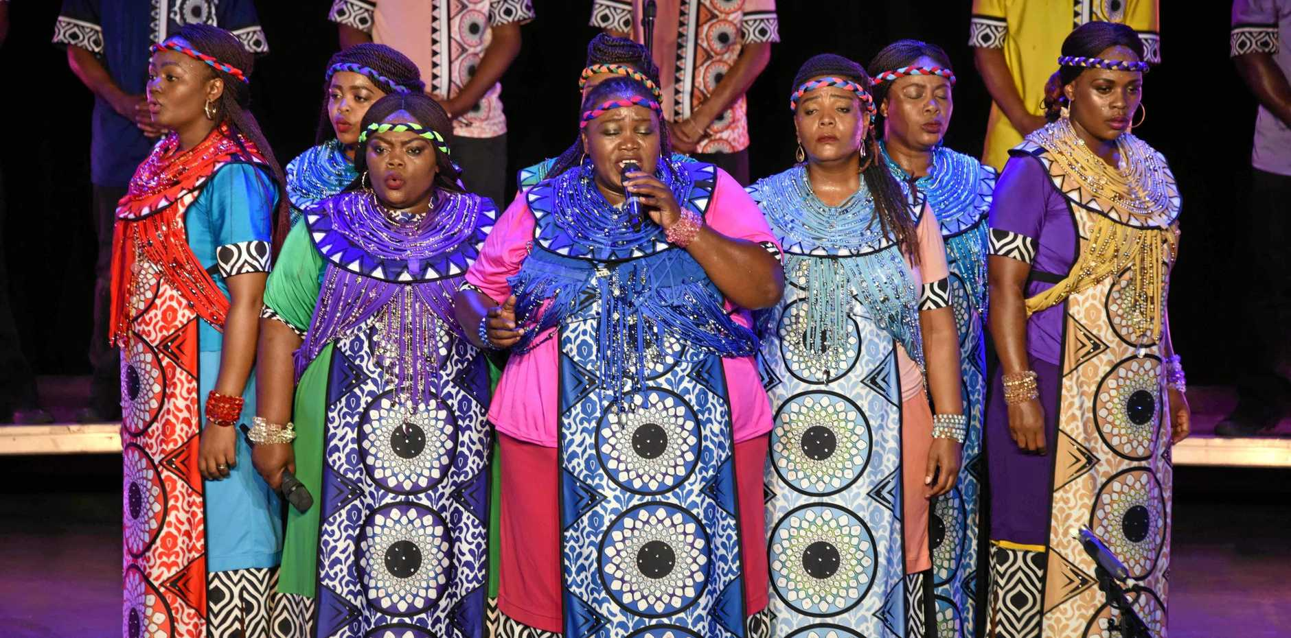 PRAISE BE: The Soweto Gospel Choir's rich harmonies are coming to the Brolga.