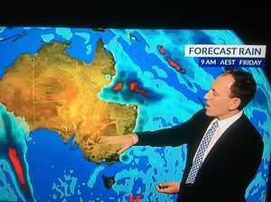 Heavy falls expected for Central Queensland this week