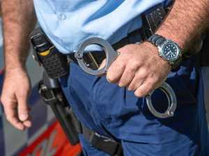 Man kicks Uber car, punches policeman and escapes