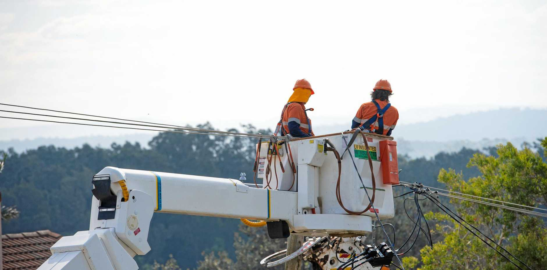 The union says every one of Essential Energy's 100 regional depots risks losing jobs.