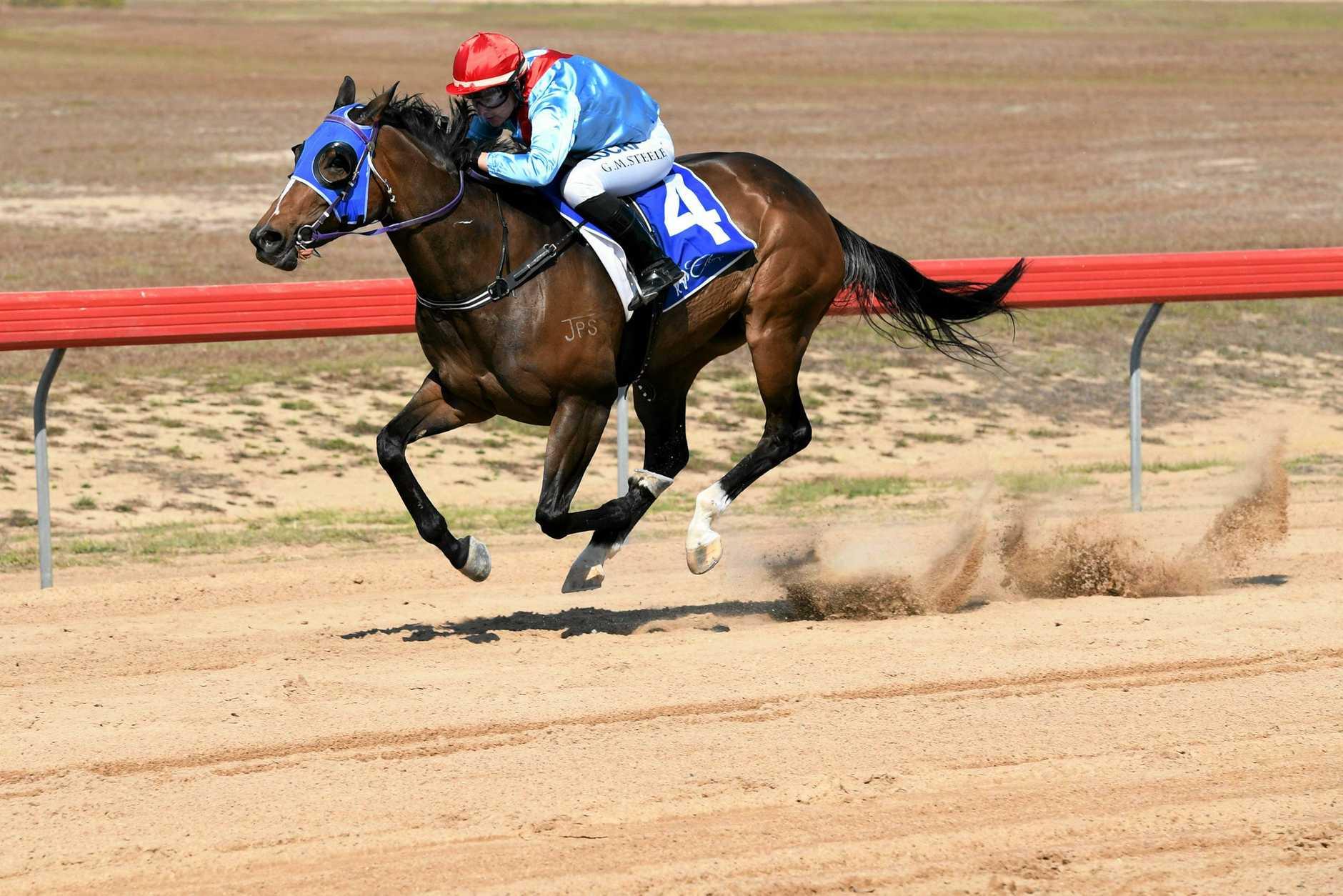 File photo of Gemma Steele riding in Bundaberg.