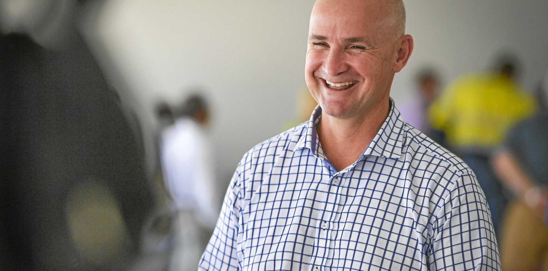 WAR OF THE WORDS: Glenn Butcher says Opposition Leader Deb Frecklington is