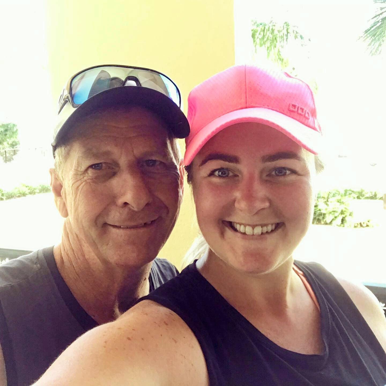 Trevor Heyes continues to inspire his daughter, Laurena Furber.