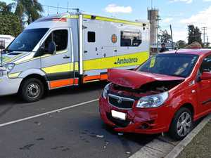 One patient hospitalised after two vehicle accident