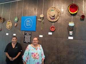 Deadly Weavers' exhibit