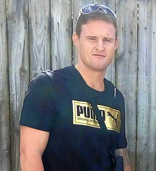 Damien Rodger Waldock was arrested by police after he was found with two shot guns and ammunition matching the description of weapons stolen in March from Wide Bay Seedlings.
