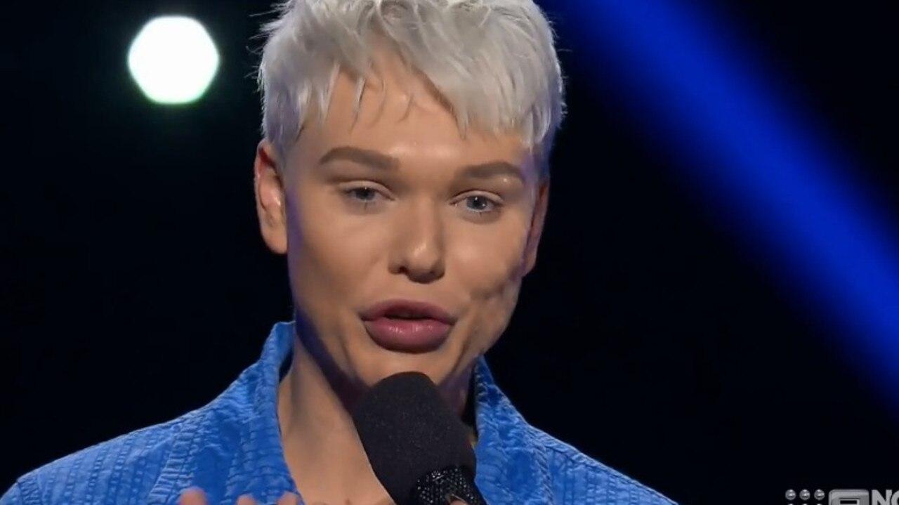 Former Australia's Got Talent winner Jack Vidgen has been eliminated from The Voice.