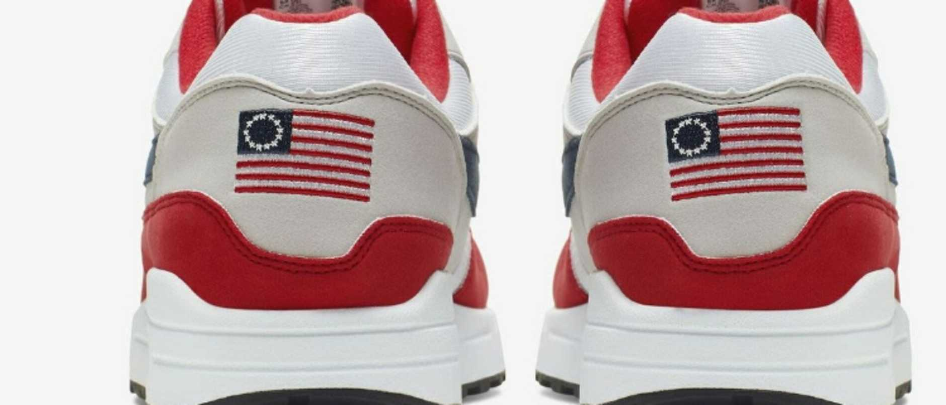 Supplied  nike betsy ross sneakers