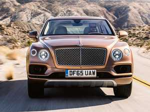 Bentley's over the top new SUV