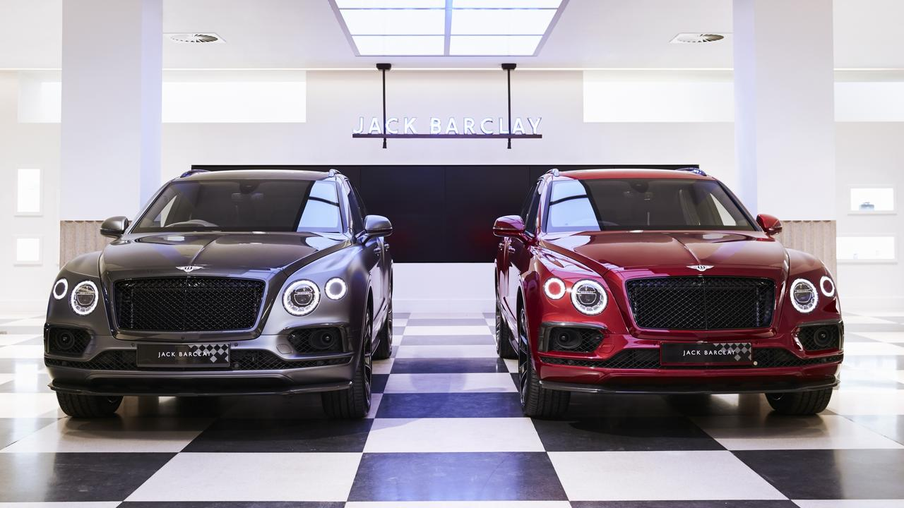 Bentley Bentayga Huntsman special edition.