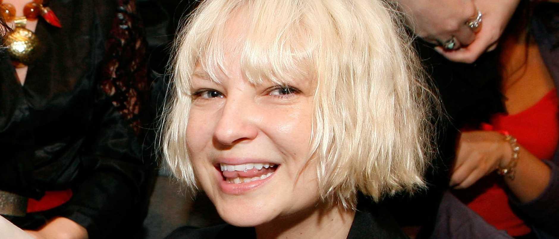 Singer Sia Furler.
