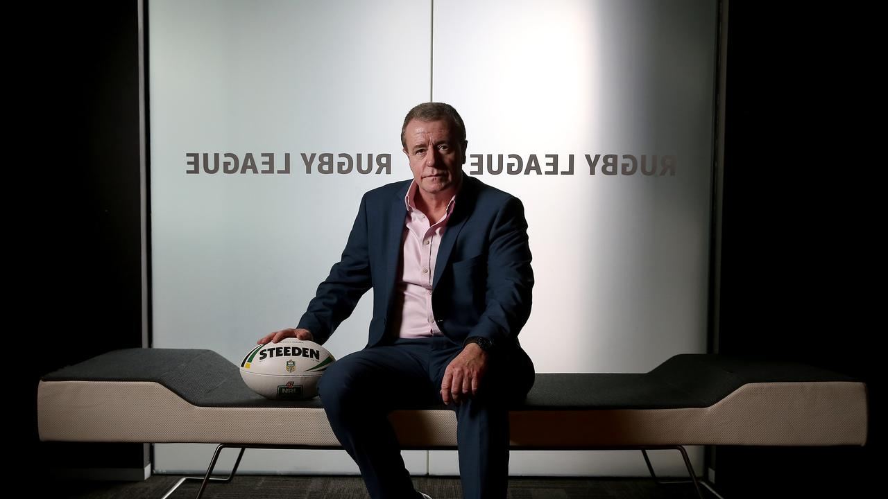 NRL Head of Football Graham Annesley. Picture: Toby Zerna