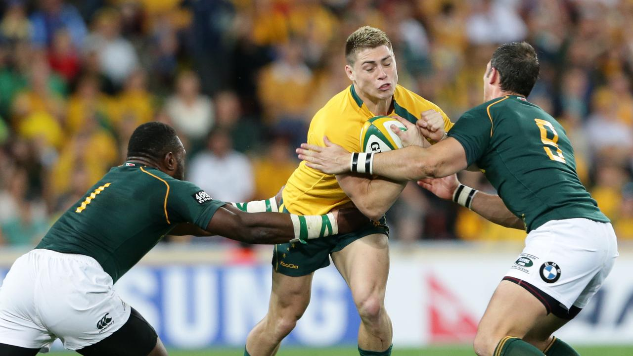 James O'Connor has earned 44 caps for the Wallabies, since debuting at the age of 18. Picture: Darren England.