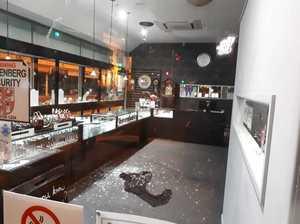 BREAK-IN: Smash and grab at Maryborough jewellery shop
