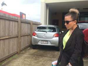 Christine Lee leaves court