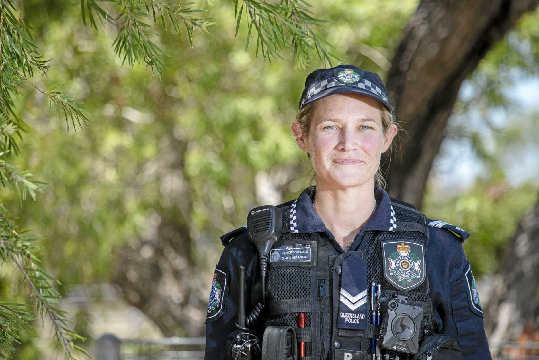 Toogoolawah Police senior constable Claire Heptinstall.