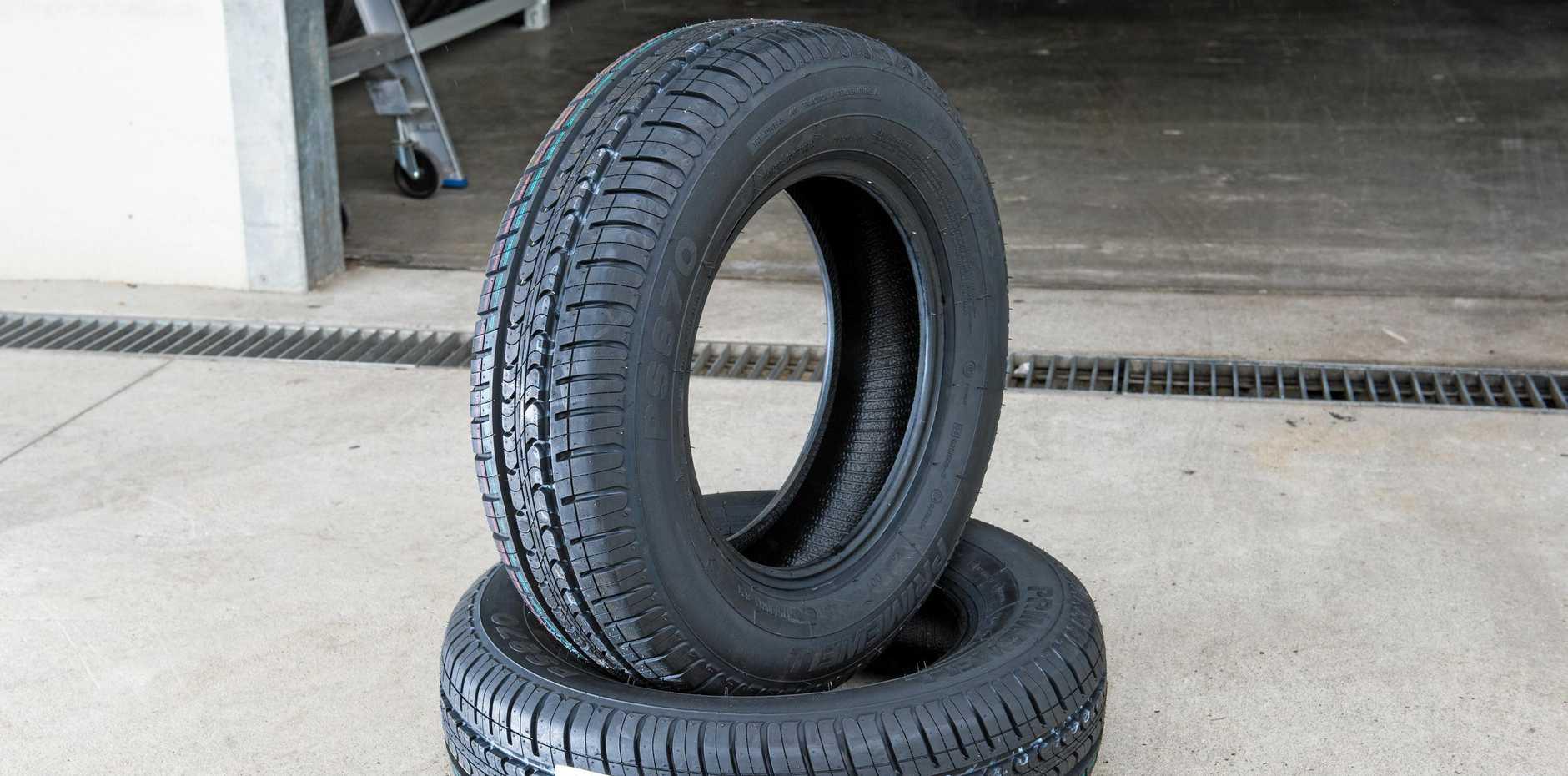 Bridgestone tyres.