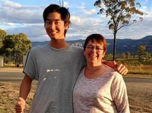 Kingaroy says G'day to our Japanese visitor