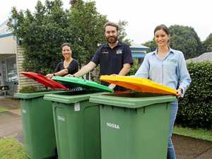 Garden waste bins for units, resorts, businesses