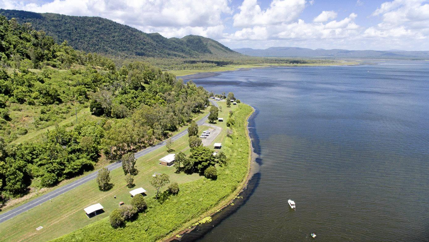 IMPROVEMENTS COMING: Whitsunday Regional Council has a master plan for Peter Faust Dam.