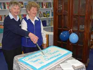 Vinnies Dalby celebrate milestones with cake