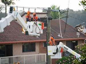 Day of outages after electricity job cuts revealed