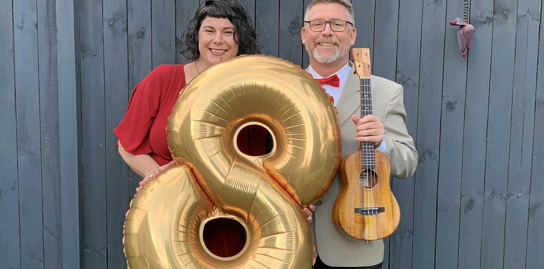 MUSIC: Miss Amber and Stukulele have held the Mullum Uke Night for eight years.
