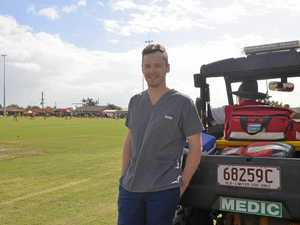 Doctors on the sideline to help kids during Confraternity