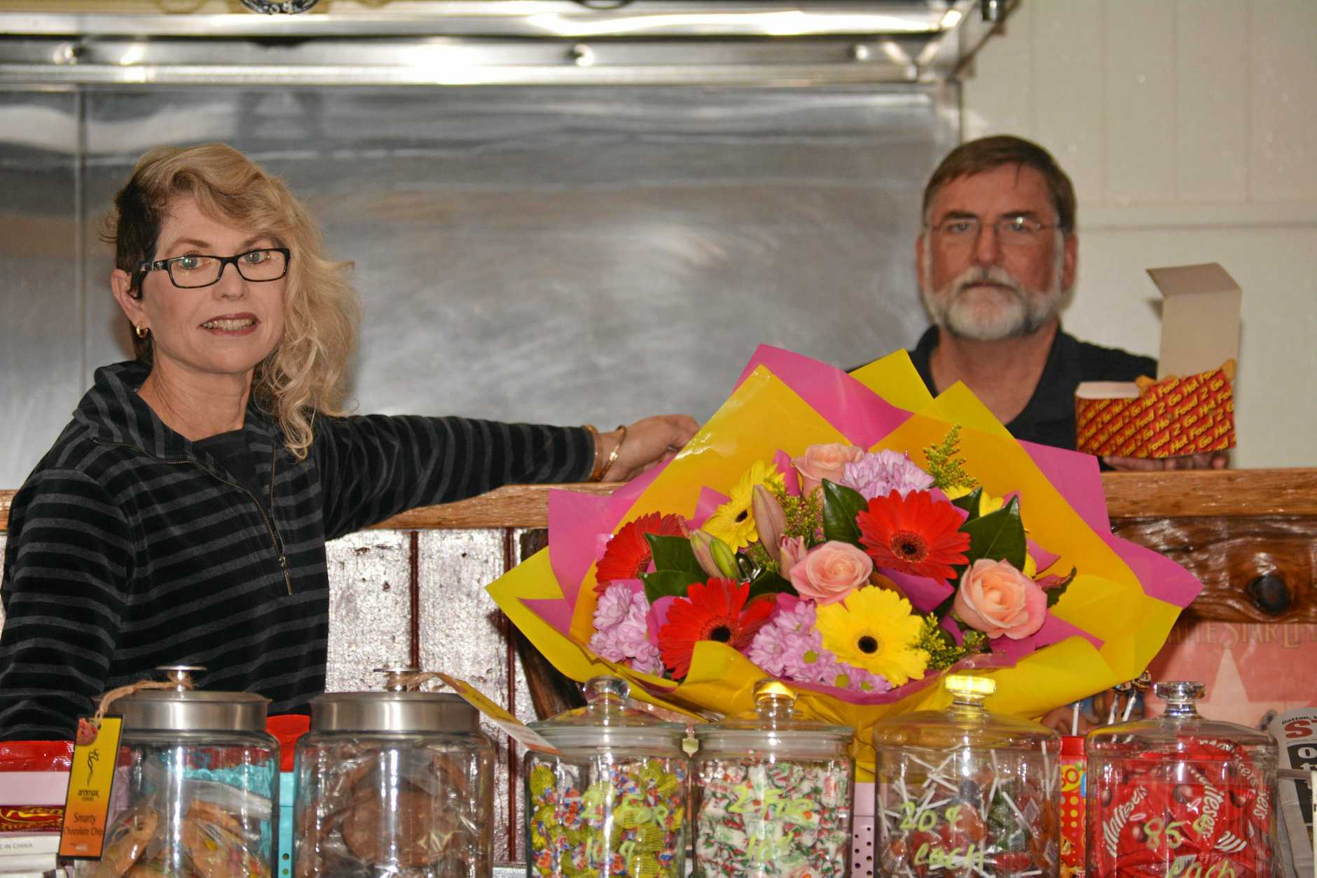 NEW DIRECTION: Debra and Alan Wallis are rearing to breathe new life into their Ma Ma Creek Store.