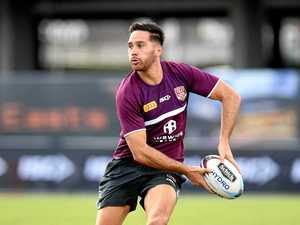 Confident Norman calling the shots at Maroons training