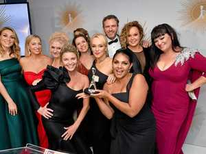 Logies excitement: Boomer's whirlwind week
