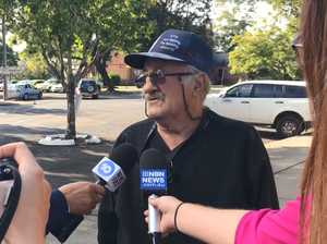 MURDER CHARGE: Father of accused addresses the media outside Grafton court