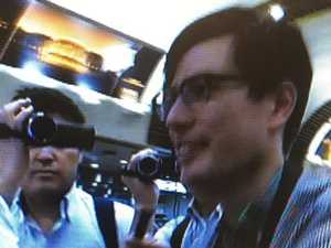 Freed Aussie student 'very good'