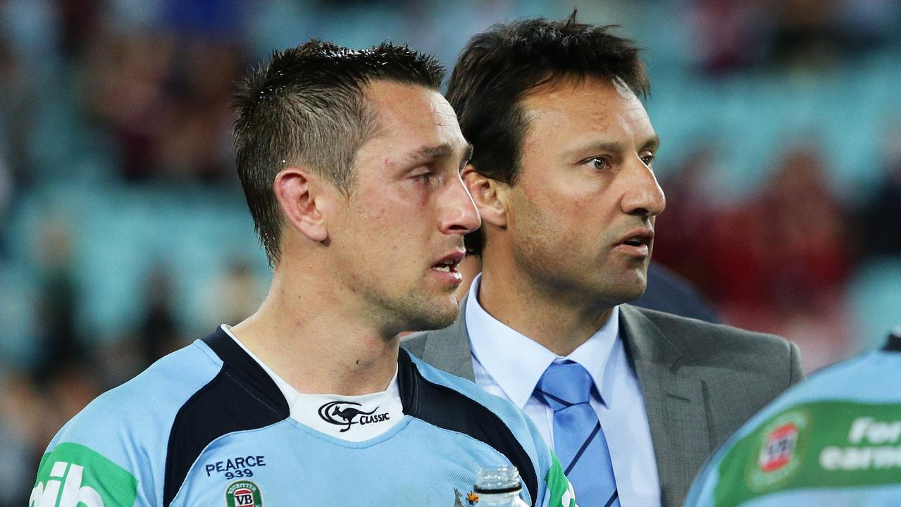 Laurie Daley was one of Mitchell Pearce's greatest supporters.