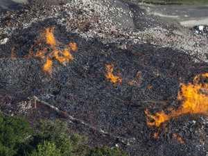45,000 BARRELS: Bourbon flows into river after fire