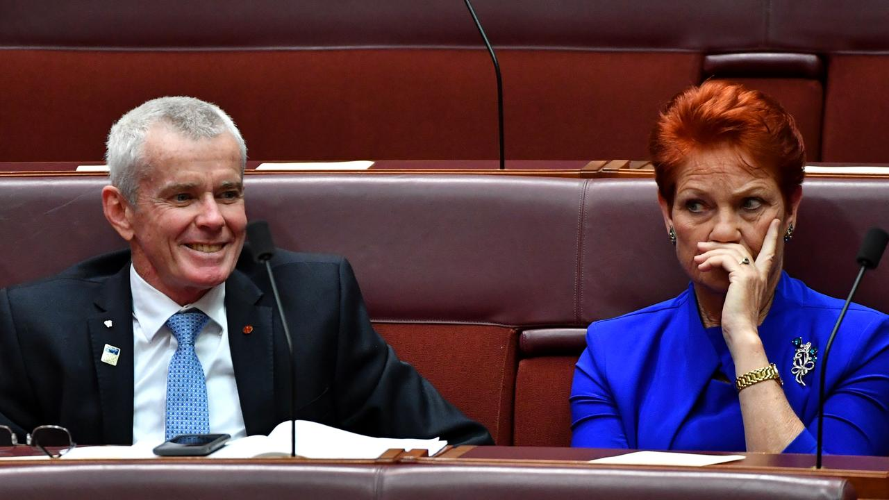 Malcolm and Pauline haven't been courted by the PM over proposed tax cuts.