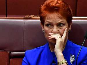 LEFT OUT: Pauline Hanson's awkward omission