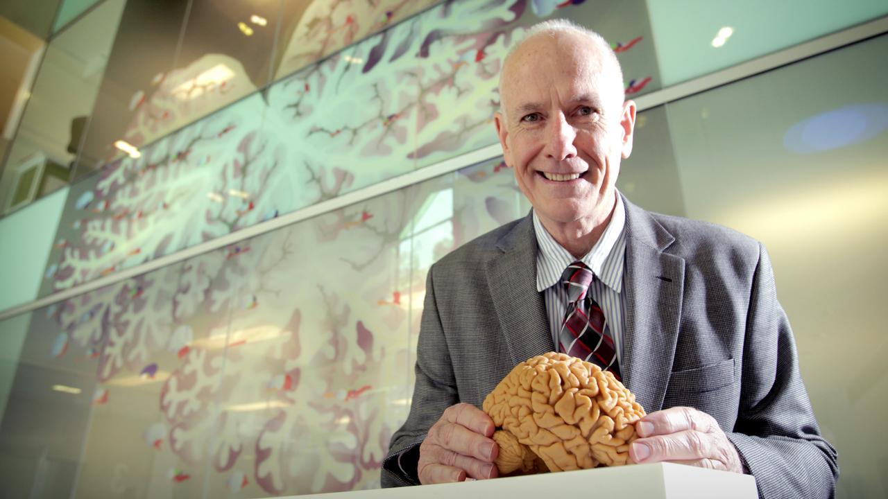 Professor Bryan Mowry, schizophrenia researcher at the Queensland Brain Institute. Pic Mark Cranitch.