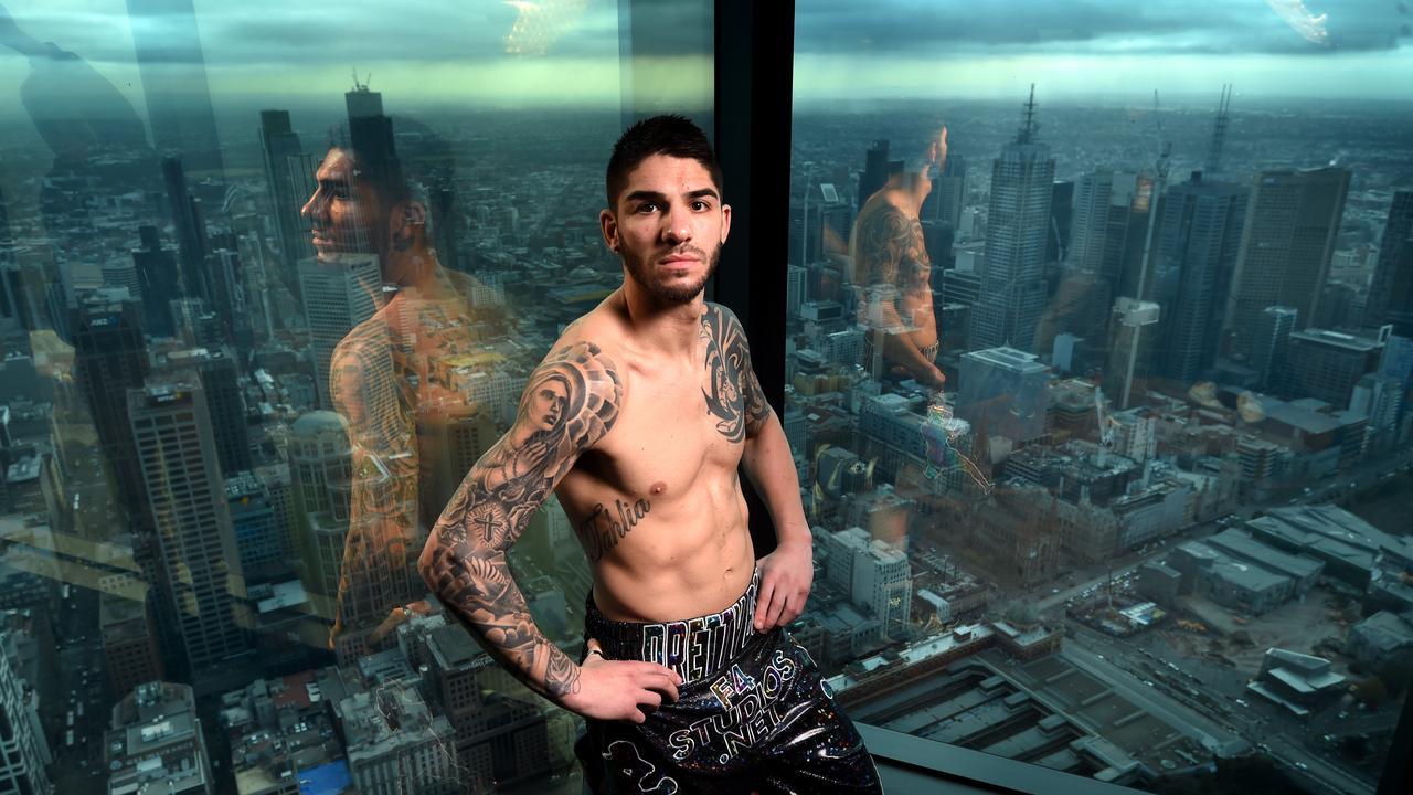 Boxer Michael Zerafa at Eureka SkyDeck.