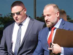 Ex-bikie's alleged threat