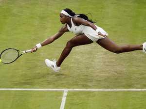 'Absurd' schoolgirl star stuns Wimbledon