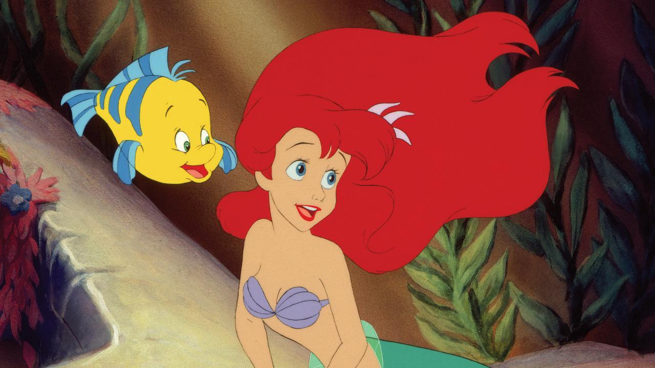 The cartoon Little Mermaid.