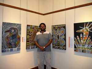 Artist showcases work to spread the NAIDOC message