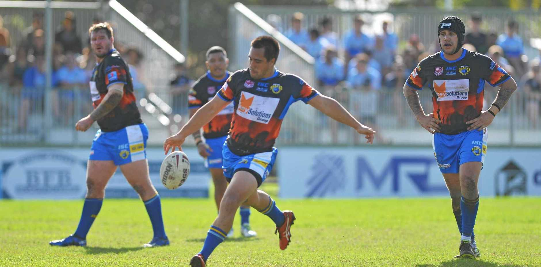 The precision kicking game of Shannon Rupapere has been a highlight of Souths' season so far.