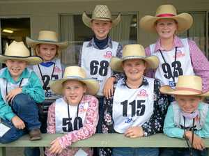 Junior paraders hit showgrounds for chance at ribbons